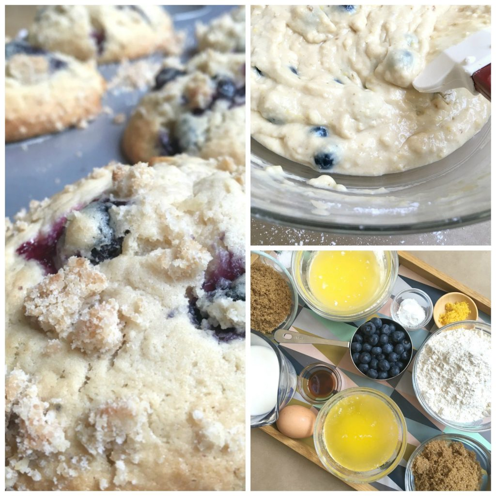 Blueberry Crumble Muffin Recipe