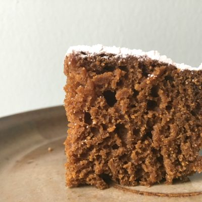 Christmas: Gingerbread Cake