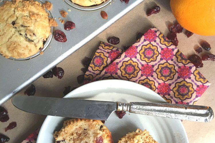 Winter's Cranberry Orange Muffin